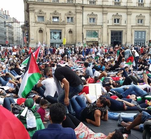 Lyon Palestine Palestinien Gaza