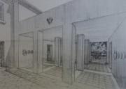 Plan de la villa Tony Garnier acquise par D. Putz. ©Lauriane Clément/Rue89Lyon