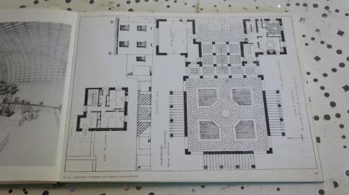 Plan de la villa de D. Putz