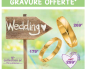 """Capture d'écran du catalogue promotionnel """"wedding"""" d'Auchan."""