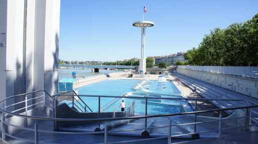 Le nouveau Centre nautique du Rhône. Crédit : Matthieu Beigbeder/Rue89Lyon.