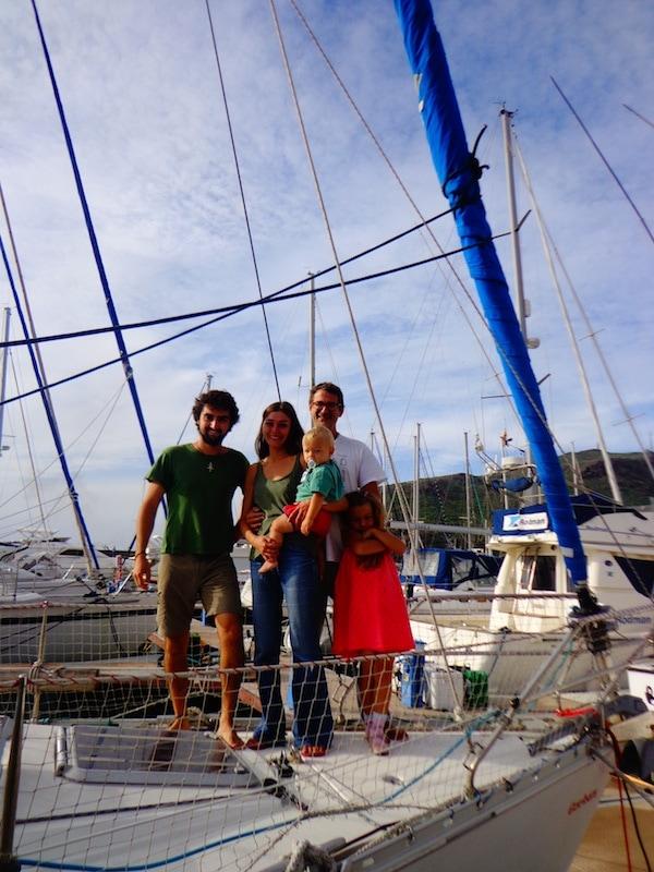 4-voilier-stop-Baptiste et sa famille d'accueil-La Gomera
