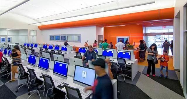 La bibliothèque du futur sera-t-elle sans livre ?