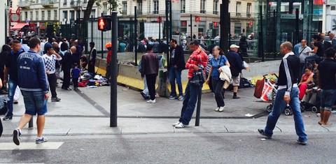 Un faux chantier urbain pour chasser les Roms de la Guillotière, à Lyon