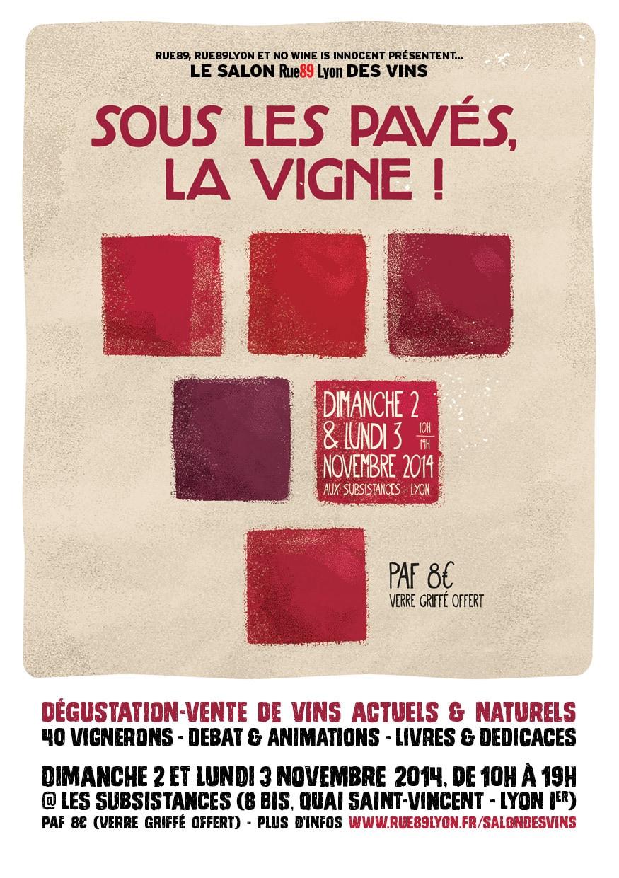 Le premier salon rue89 lyon des vins rue89lyon for Salon du vin lyon
