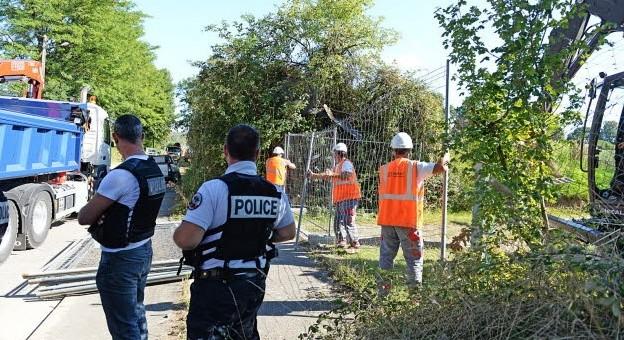 Des policiers pour poursuivre le chantier des accès au Grand Stade de l'OL
