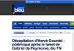 Un élu FN de Saint-Etienne «indigne» en publiant des photos d'Hervé Gourdel