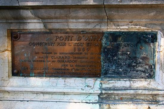 Le pont a été construit en 1818 puis reconstruit en 1899 © Laura Steen