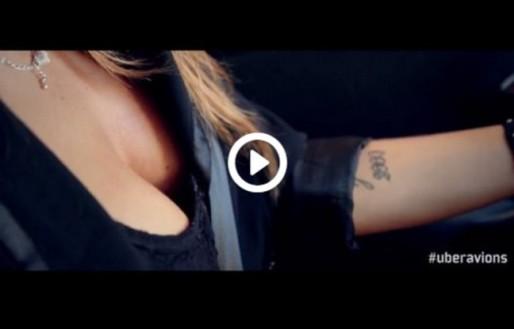 Capture Youtube de la vidéo de présentation de la collaboration entre UberLyon et Avions de chasse.