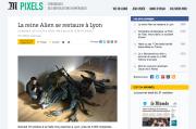La reine Alien au Musée miniature et cinéma de Lyon.