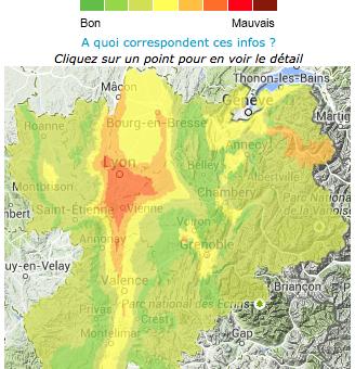 Enième pic de pollution à Lyon, le rallumage des chauffages en cause