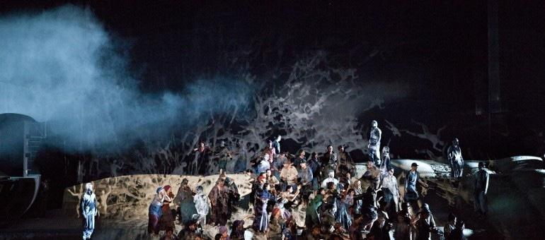 Le Vaisseau fantôme à l'Opéra de Lyon : une mer un peu lourde dans un écrin vertigineux