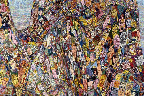 Exposition Erró : un artiste monstre au musée d'art contemporain de Lyon