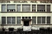 Occupation de l'école Painlevé. ©DR
