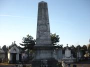 Monument du nouveau cimetière de la Guillotière.