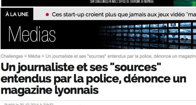 Un journaliste de Lyon Capitale entendu par la police lyonnaise