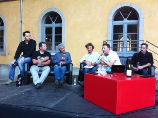 Débat au salon Rue89 Lyon des vins, première édition.