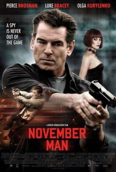 Affiche de November man.