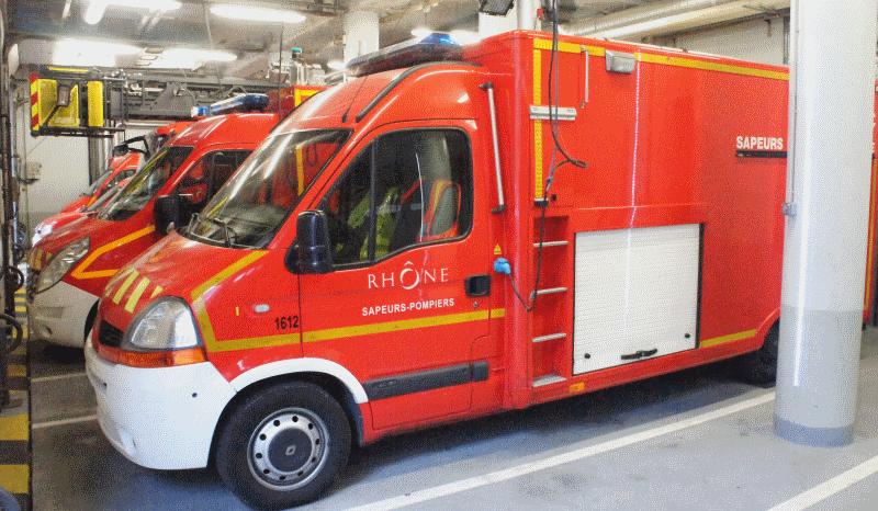 Caserne de Pompiers 17 Rue Rabelais. Crédit Guillaume Bernard/Rue89Lyon