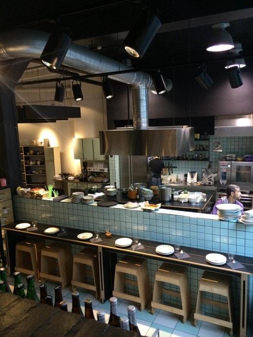 Le Garage à manger, à Bruxelles, pour manger en mode slow food. BP/Blog-Rue89Lyon.