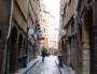 Rue Saint-Georges, dans le Vieux Lyon. ©LB/Rue89Lyon