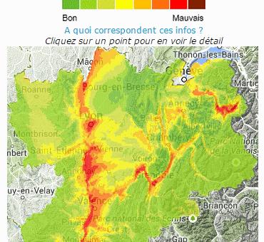 Pour Noël : grand soleil et pic de pollution en Rhône-Alpes