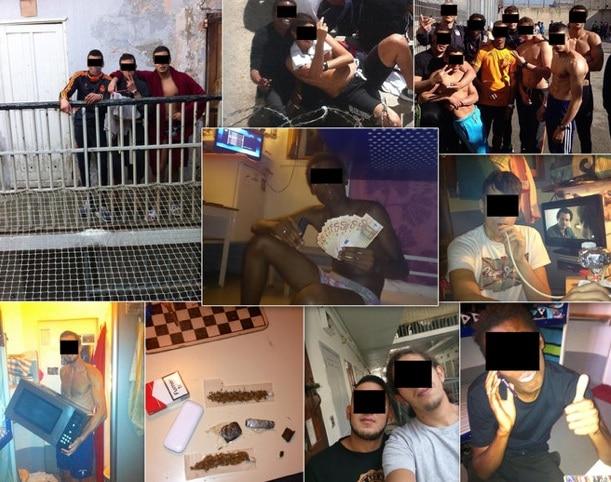 """Capture d'écran du site de la Provence reprenant une compilation des photos de la page Facebook """"MDR o Beaumettes"""""""