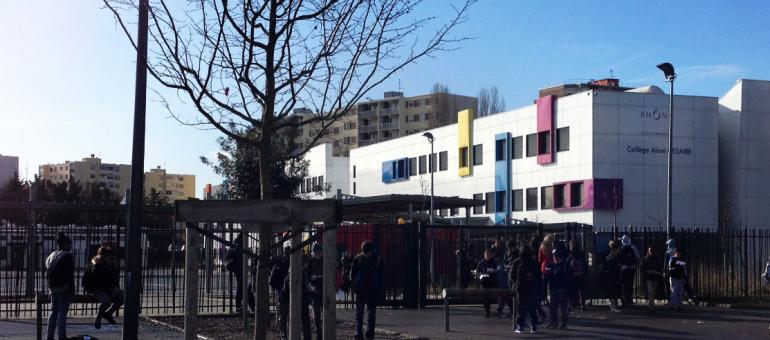 Le collège Aimé Césaire à Vaulx-en-Velin, au bord de la crise de nerfs