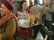 Lectrice Charlie Hebdo capture d'écran vidéo France24 2