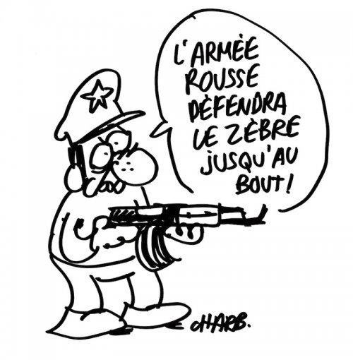 Le dessin de Charb, tué ce mercredi 7 janvier dans les locaux de Charlie Hebdo, pour la coopérative du Zèbre.