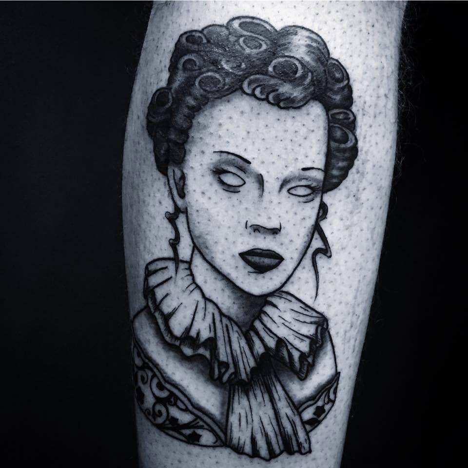 Tatouage Visage Femme Rue89lyon