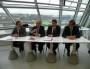Conférence de presse (de gauche à droite) : Jean PAPADOPULO, Gerard COLLOMB, Gael PERDRIAU, Thierry KOVACS