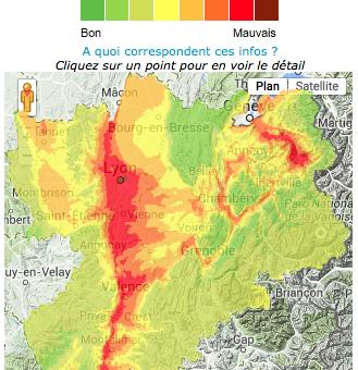 En Rhône-Alpes, les pics de pollution se suivent et se ressemblent