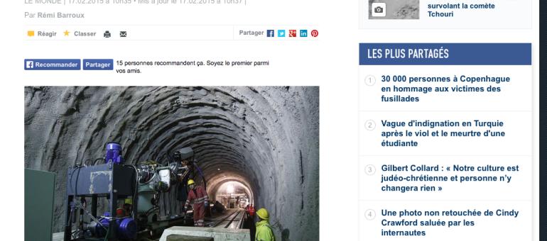 Une taxe poids lourds pour financer le Lyon-Turin ?