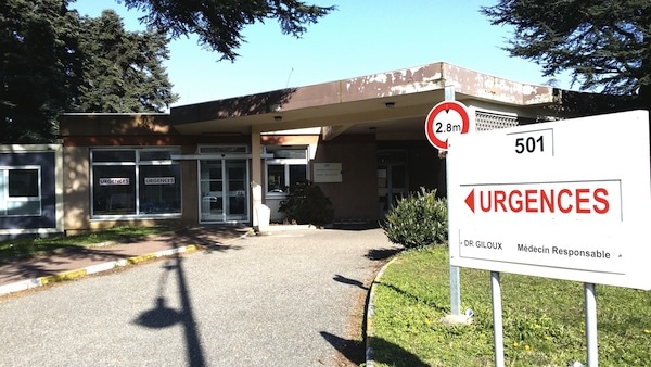 Les urgences du Vinatier. ©LB/Rue89Lyon.fr