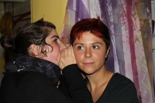 Sophie et Aurélia de l'association Autodéfense et Autonomie Féministe.