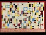 """La pharmacie"" de Raympn Grandjean, 1957, crayon et huile sur toile"