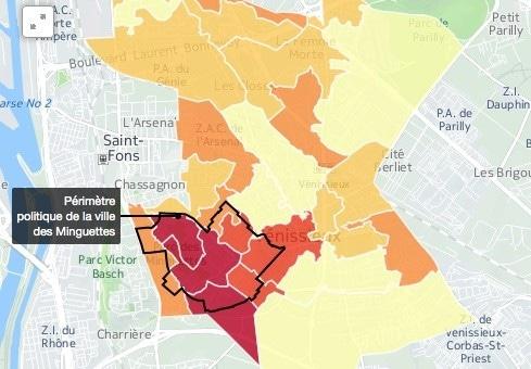À Vénissieux, les Minguettes (et l'abstention) feront l'élection municipale
