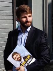 Damien Monchau, candidat FN. ©LB/Rue89Lyon