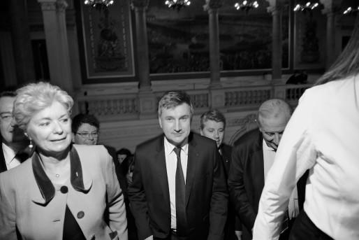 Christophe Guilloteau (UMP) en passe de devenir le nouveau président du Rhône. Crédit : Eric Soudan.