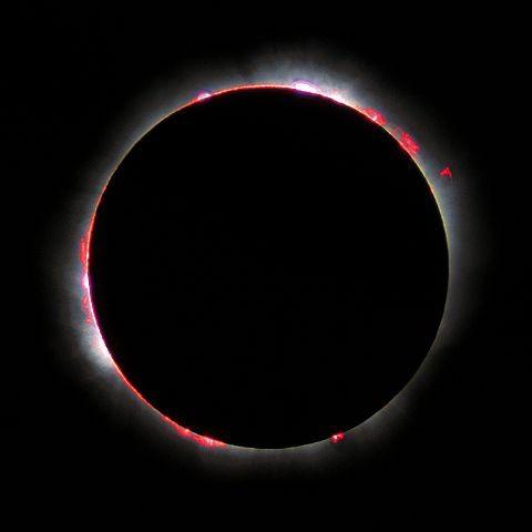 L'éclipse totale du soleil de 1999 en France / Crédits : Wikicommons /  Luc Viatour