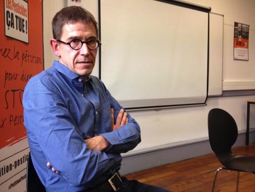 Frédéric Apollin, directeur de l'ANVS