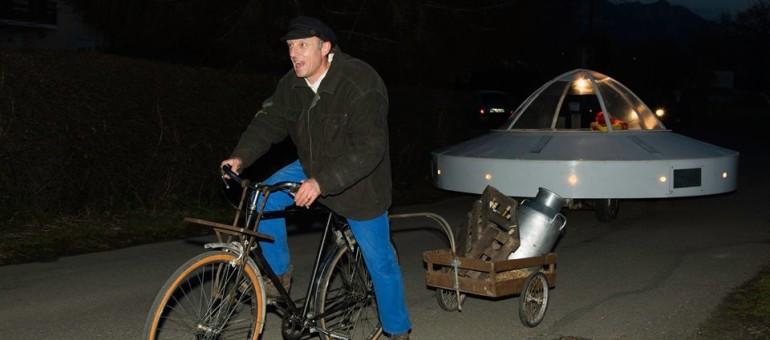 Virée du Bon Coin, une soucoupe volante savoyarde mise aux enchères sur eBay