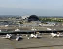 Aéroport de Lyon Saint-Exupéry depuis la tour de contrôle le 2 mai 2006© Jean-François Marin/Aéroports de Lyon