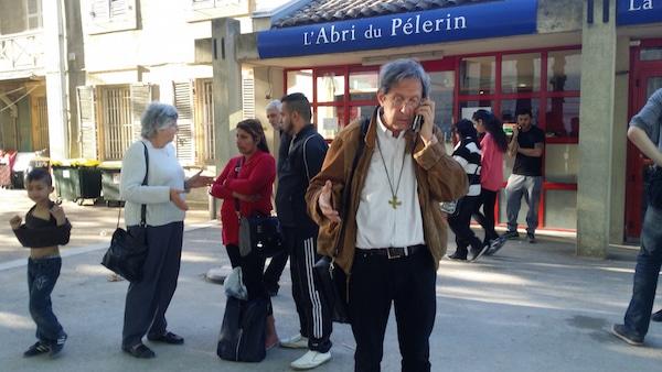 Le père Bruno-Marie Duffé, vicaire épiscopal « Famille, Santé, Société » du diocèse de Lyon. ©LB/Rue89Lyon