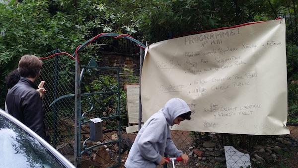 Réouverture du « jardin pirate » des Pentes de la Croix-Rousse