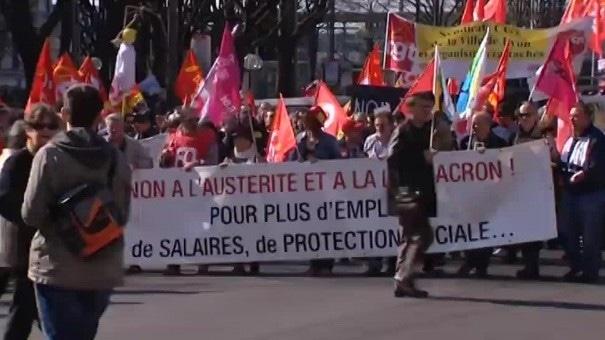 A Lyon, entre 4 000 et 7 000 personnes contre l'austérité