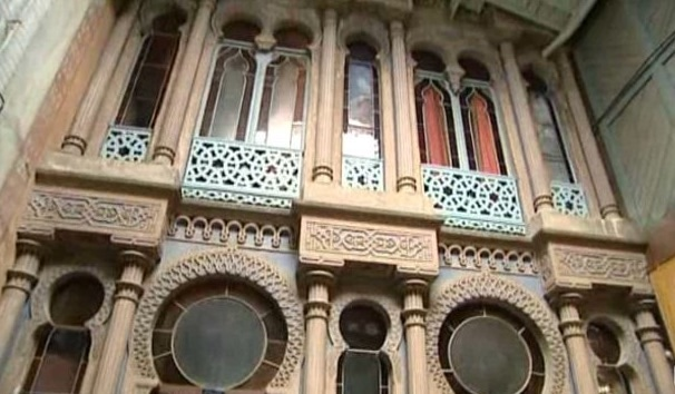 L'intérieur de la villa Casamaures. Capture d'écran France 3 Alpes