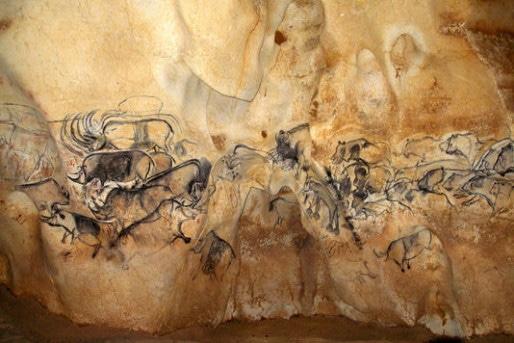 Grande fresque. Jean Clottes/Ministère de la Culture.