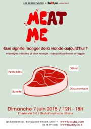 Affiche Meat me